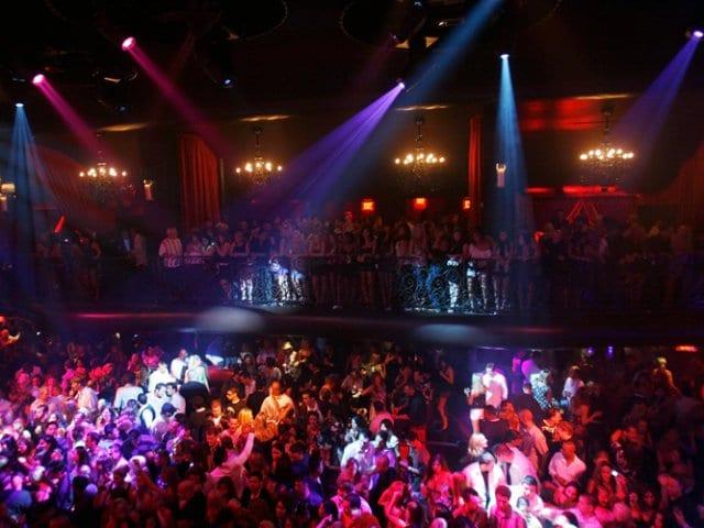 Balada LAX Nightclub em Las Vegas