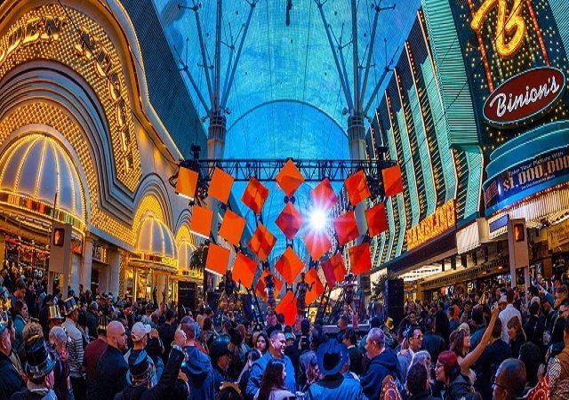 Fremont Street Experience em Las Vegas
