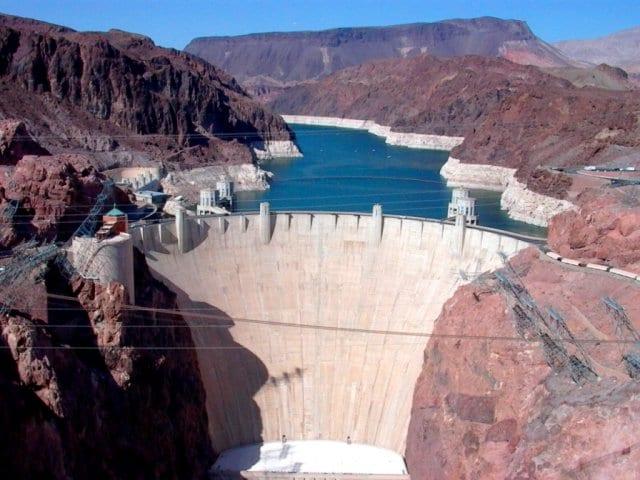 Como chegar na represa Hoover Dam em Las Vegas