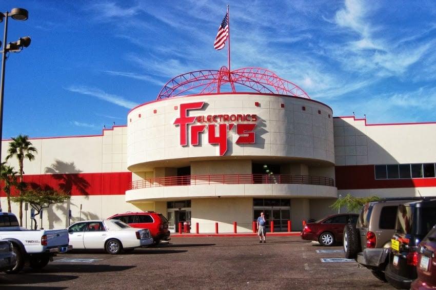 Fry's em Las Vegas: Loja de eletrônicos