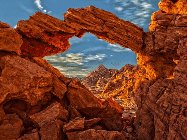 Parque Valley of Fire em Las Vegas