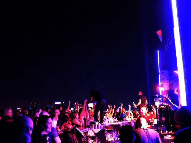 Balada VooDoo Rooftop Nightclub em Las Vegas