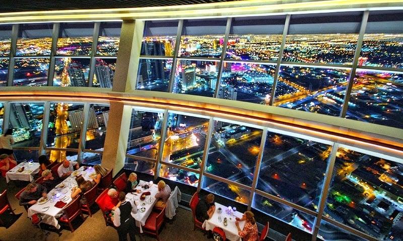 Restaurante Top Of The World no hotel Stratosphere em Las Vegas