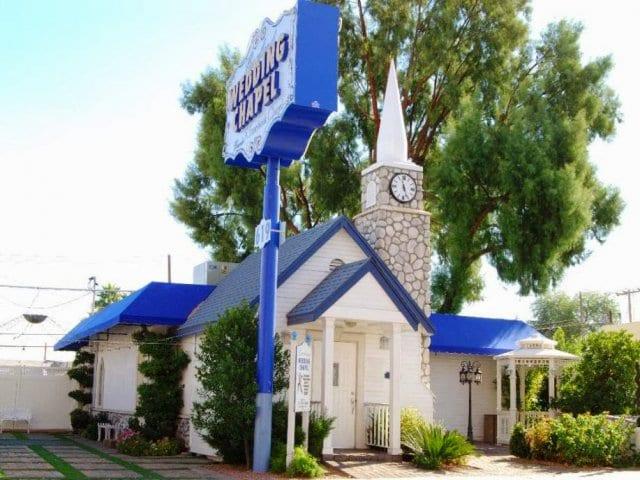 Capela Graceland Wedding Chapel em Las Vegas