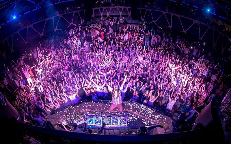Balada Hakkasan Nightclub em Las Vegas