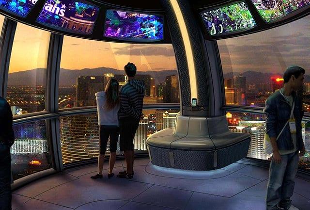 Ingressos para a Roda Gigante High Roller em Las Vegas
