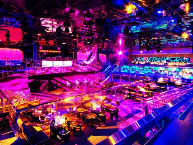 Balada The Bank Nightclub em Las Vegas