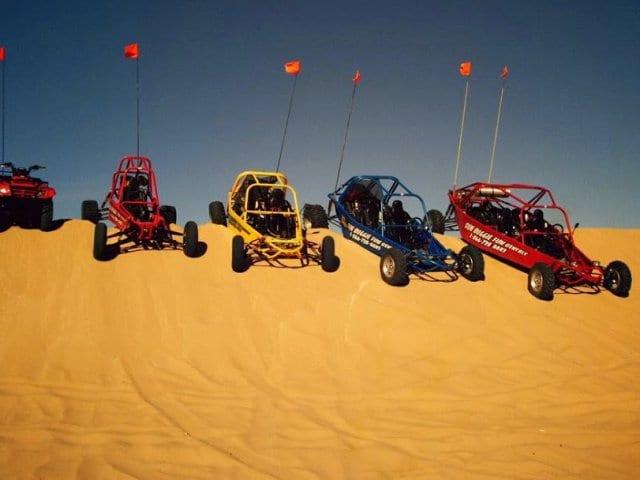 Corrida de Buggy no deserto de Las Vegas