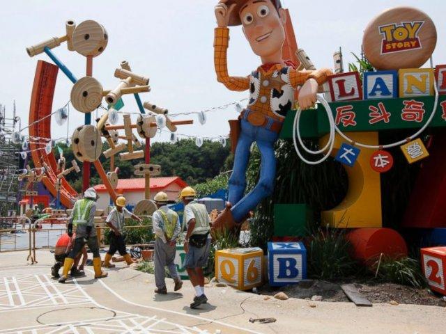 Parque Disney Adventure Park na Califórnia