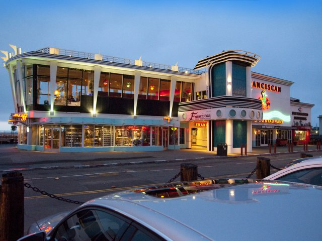 Restaurante Franciscan Crab em San Francisco na Califórnia