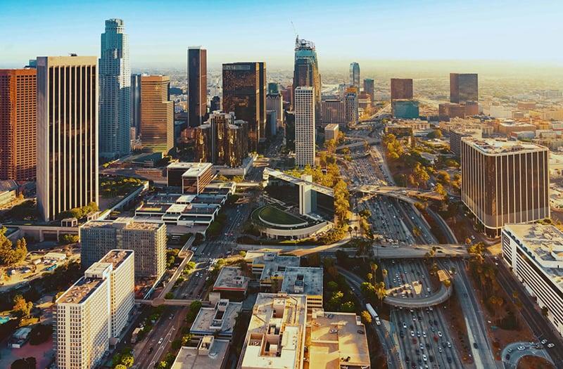 Clima e tempo em Los Angeles na Califórnia