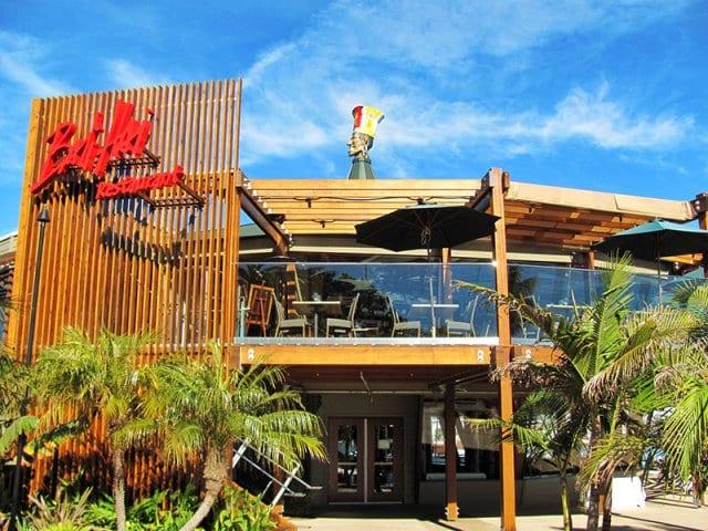Restaurantes em San Diego com vista para a cidade