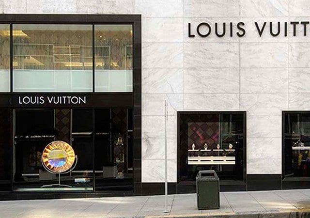 Lojas Louis Vuitton em Las Vegas