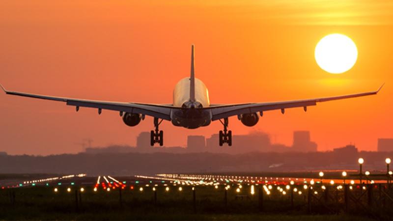 Avião em Las Vegas