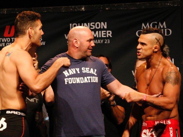 UFC 187 em Las Vegas   Weidman x Vitor Belfort e Jones x Johnson