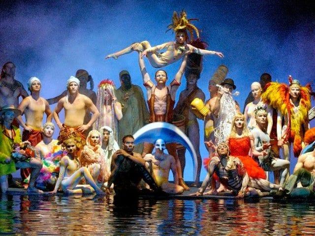 """Show """"O"""" do Cirque du Soleil em Las Vegas"""
