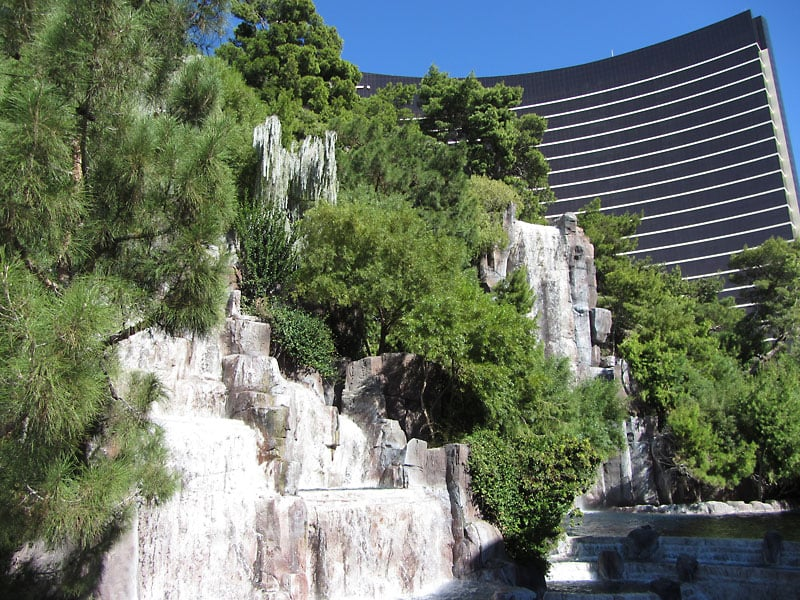 Cascata do Wynn em Las Vegas