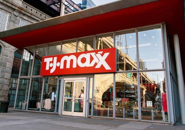 Loja de departamento T.J.Maxx em Las Vegas