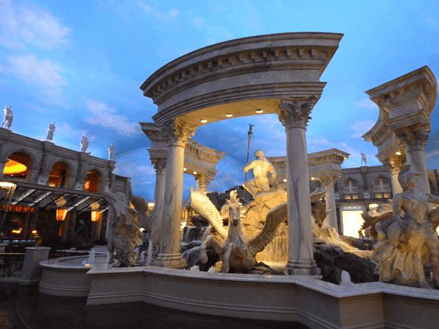 Arte nos hotéis em Las Vegas