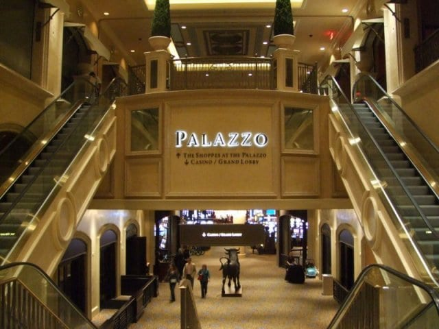 The Shoppes no Palazzo em Las Vegas