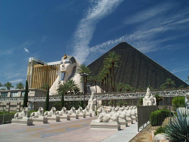 Nurture Spa no Luxor Hotel em Las Vegas