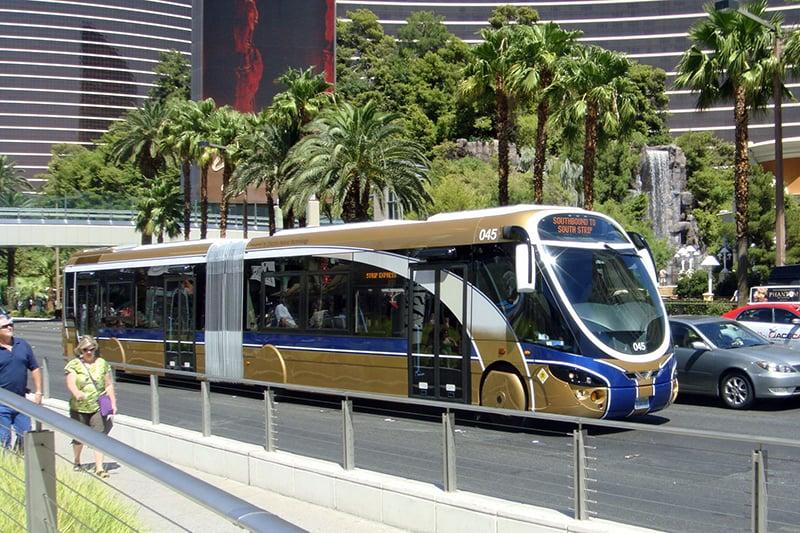 Ônibus em Las Vegas