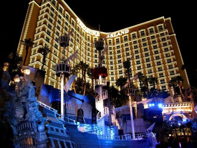 Hotel Cassino Treasure Island em Las Vegas