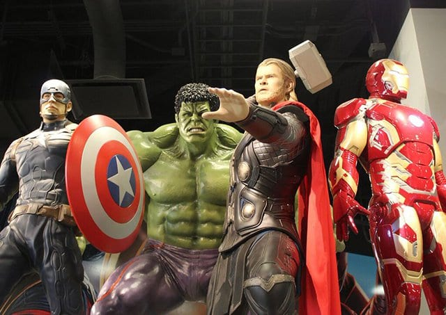 Estação dos Vingadores da Marvel em Las Vegas