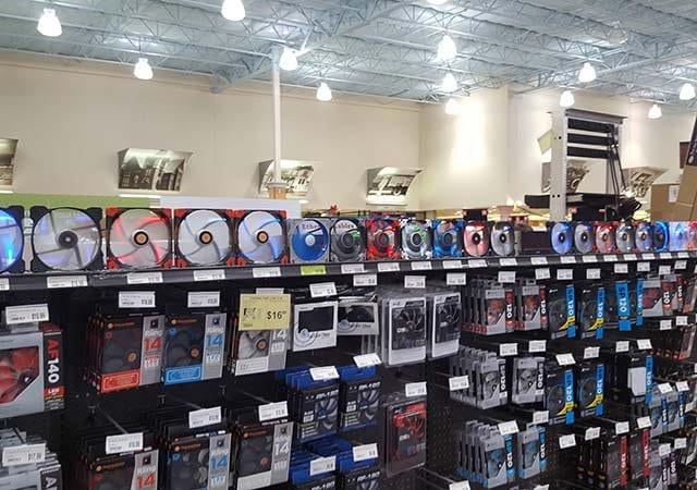Qual é a melhor loja de eletrônicos de Las Vegas?