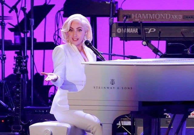 Show da Lady Gaga em Las Vegas dia 19 de Julho de 2014