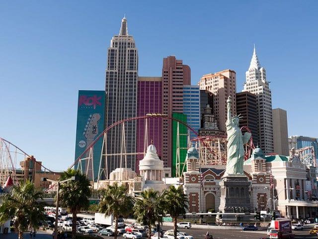 Las Vegas em Julho