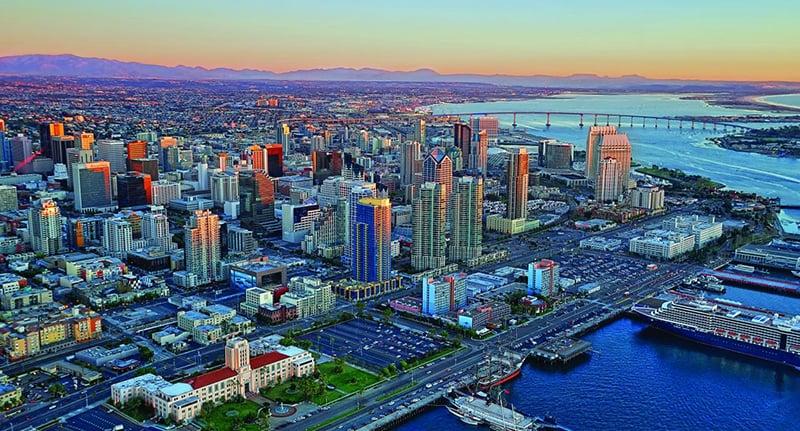 Vídeo em Time Lapse de San Diego