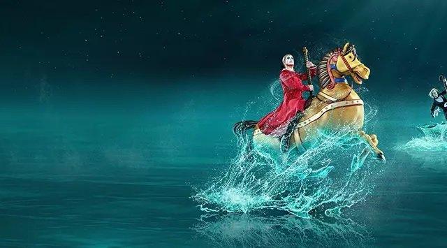 """Ingressos para o Show """"O"""" do Cirque du Soleil em Las Vegas"""