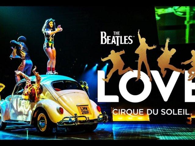 Ingressos para o Show Love Beatles do Cirque du Soleil em Las Vegas