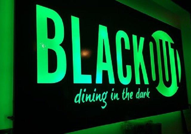 Jantar no Escuro em Las Vegas