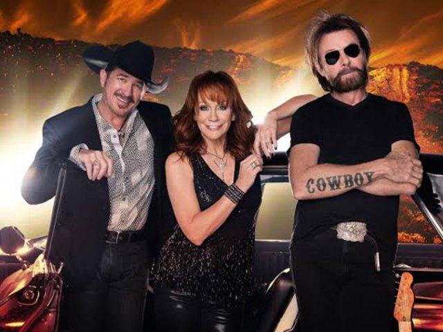 Show Reba, Brooks & Dunn em Las Vegas