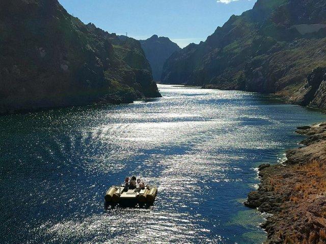 Excursão de aventura no Rio Black Canyon