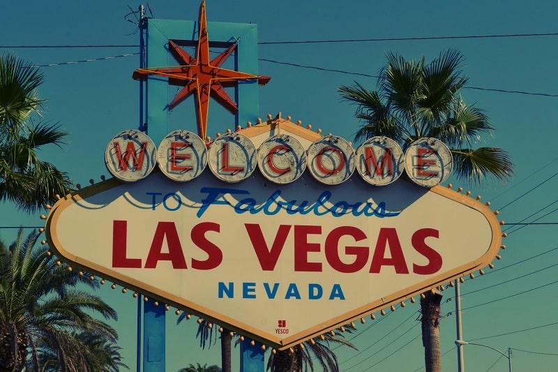 Letreiro de Las Vegas