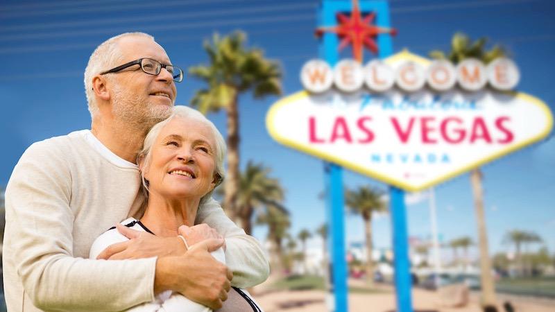 Dicas de Las Vegas para a melhor idade 60+